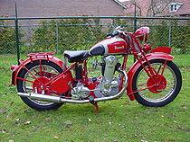 Benelli Type 4 TN (500 cc) uit 1935