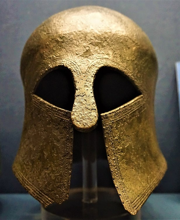 Corinthian Helmet - Benaki Museum, Athens - Joy of Museums