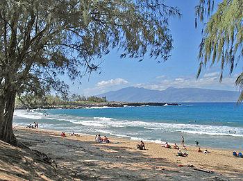 D. T. Fleming Beach Park, Kapalua, Maui, Hawai...