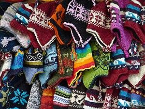 English: Wool for sale, Kathmandu, Nepal