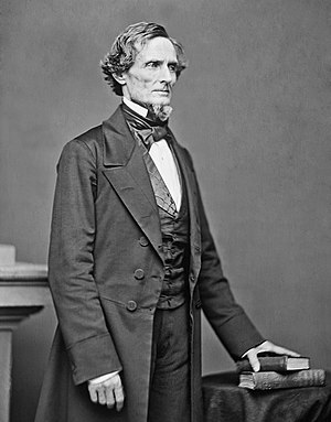 Jefferson Davis, only President of the Confede...