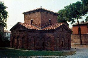 Mausoleo de Gala Placidia, Rávena.