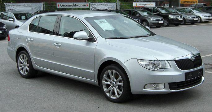 Skoda Superb II front 20100515