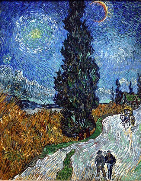 File:Van Gogh - Country road in Provence by night.jpg