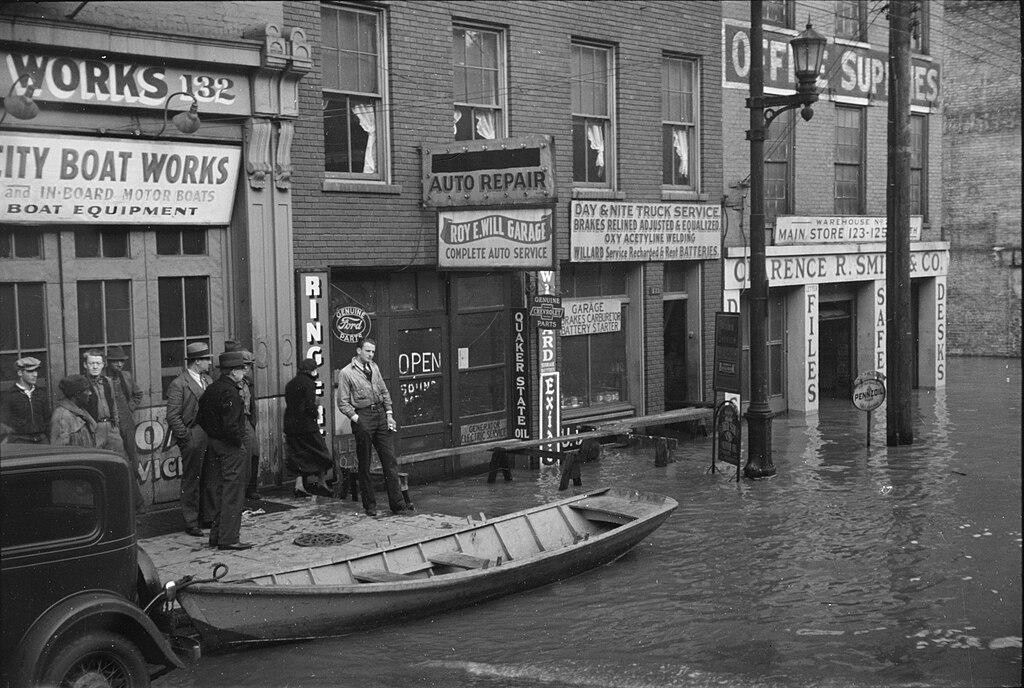 File1936 Ohio River Flood Louisville Kentuckyjpg