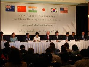 English: Inaugural Ministerial Meeting of the ...