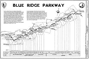 Blue Ridge Parkway, Virginia and North Carolin...