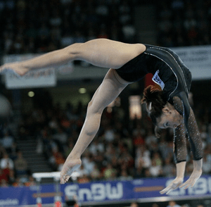 Cătălina Ponor at 2007 World Artistic Gymnasti...