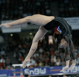 English: Cătălina Ponor at 2007 World Artistic...