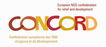 English: This is the logo of CONCORD, the Euro...