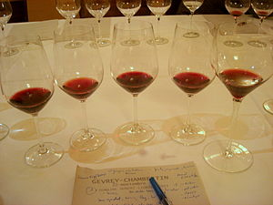 "From author:"" Tast de Gevrey Chambertin: ..."