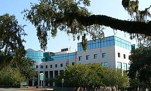 Leon County Courthouse, Tallahassee, Florida USA