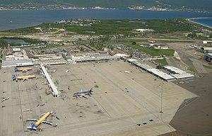 English: Norman Manley International Airport
