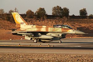 "IAF F-16I Sufa of the 107th Squadron (""Th..."