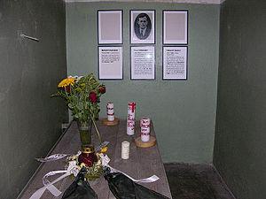 Paul Schneider's cell in Buchenwald