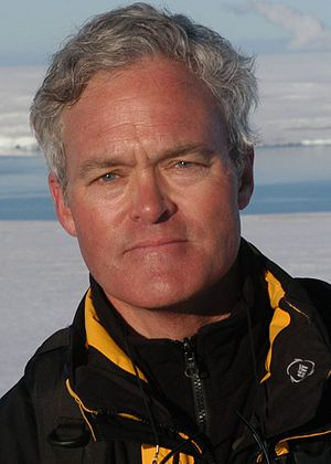 Scott Pelley in Antarctica