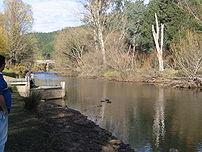 The Ovens River at Porepunkah, Victoria
