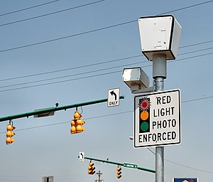 Red light camera system at the Springfield, Oh...