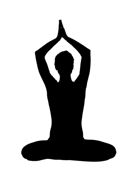 File:Silhouette yoga.png
