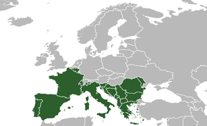 English: Southern Europe.