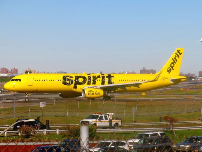 Spirit Airlines Airbus A321-231(WL) N658NK