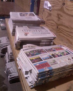 English: Star Tribune Assembly Process. Kiswah...