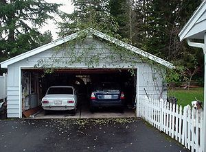 Typical America 'Two-car Garage' (detached type)