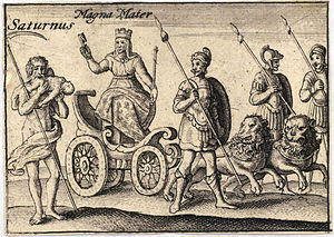 Wenceslas Hollar - The Greek gods. Saturn