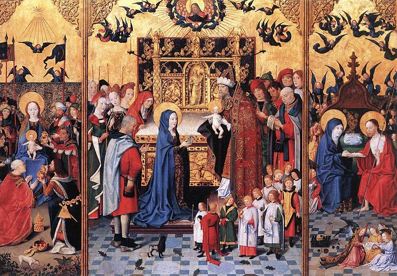 File:15th-century unknown painters - Altarpiece of the Seven Joys of Mary - WGA23743.jpg