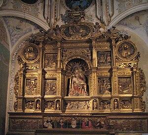 Español: Altar de La Piedad realizado por Jero...