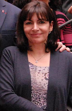 Français : Anne Hidalgo Première adjointe au M...