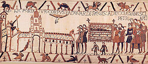 The funeral cortege of Edward the Confessor, f...