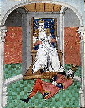 Alp Arslan humiliant Romain IV