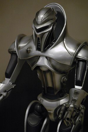 A very accurate model of a Cylon Centurion at ...