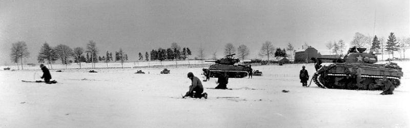 File:Infantry & Tanks near Bastogne.jpg