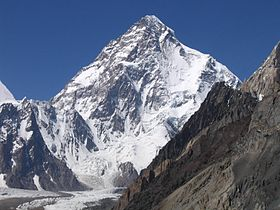 Picture of mountain 'K2'