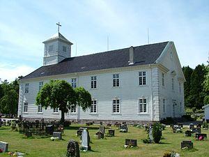 Mandal Norwegen Kirche