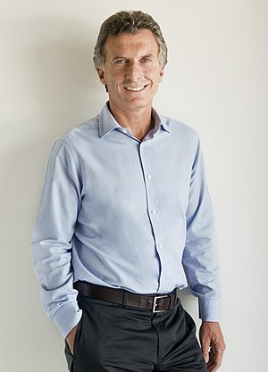Official photo of Mauricio Macri