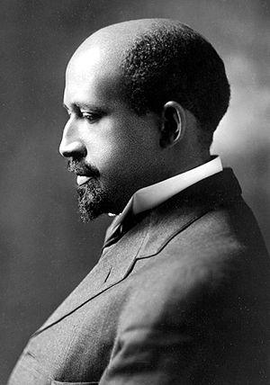 W.E.B. Du Bois, Gelatin silver print c.1911,