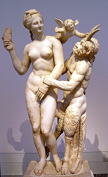 Venus, Pan and Eros