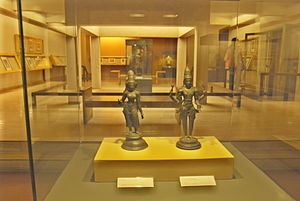 Prince of Wales Museum second level gallery - ...