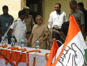 Sheila Dikshit Chief Minister of Delhi India