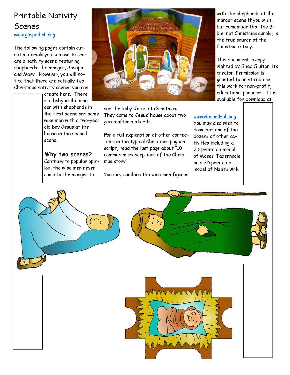 File Sunday School Lesson Activity 502 The Birth Of The