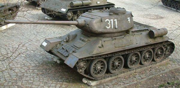 T-34-85 – Wikipédia, a enciclopédia livre