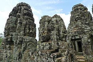 A temple called Bayonne, Angkor Thom, the Angk...