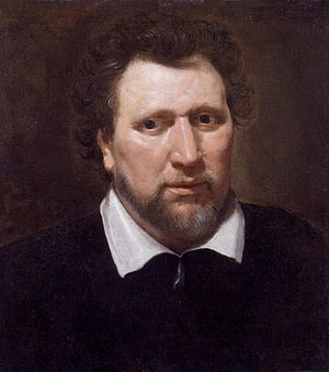 Benjamin Jonson, after Abraham van Blyenberch....