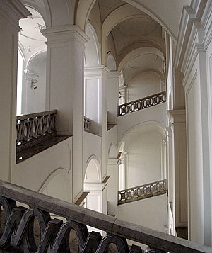 Bratislava Castle Stairwell