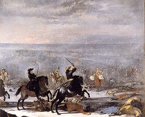 Charles XI, Battle of Lund.jpg