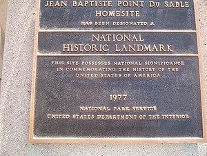 du Sable National Historic Landmark, (Referenc...