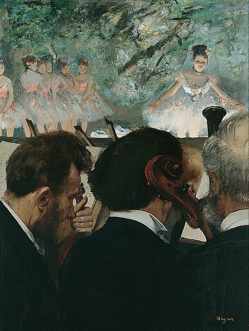 """Orchestra Musicians"" by Edgar Degas"